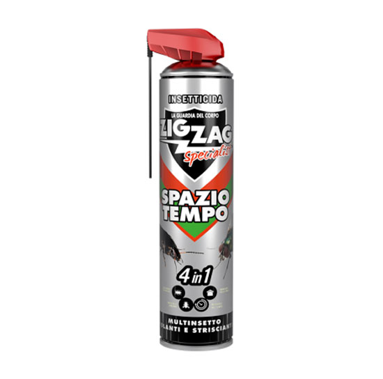 Zig Zag SPAZIO TEMPO INSETTICIDA spray MULTINSETTO 500ML