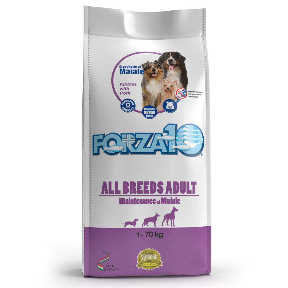 FORZA10 ADULT ALL BREEDS al maiale kg12,5
